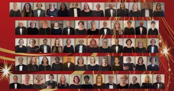 Manassas Chorale, virtual winter concert 2020