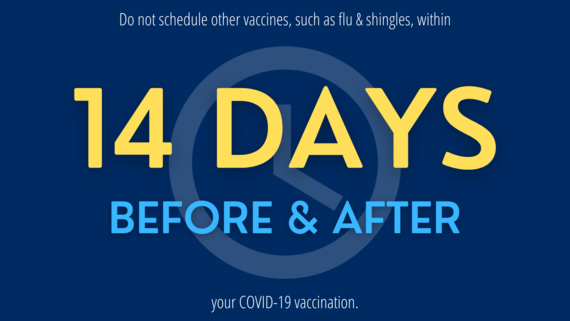 COVID vaccine 14-day limit