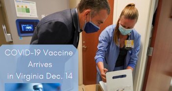 COVID 19 vaccine, Gov Northam