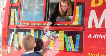 bookmobile, library