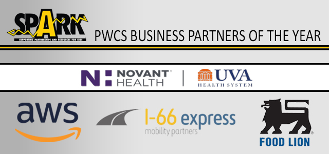 SPARK Business Partners of the Year, PWCS