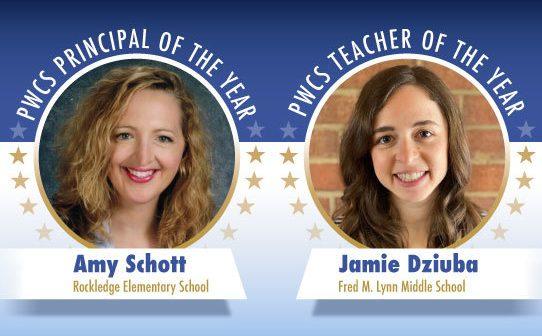 PWCS principal and teacher of the year