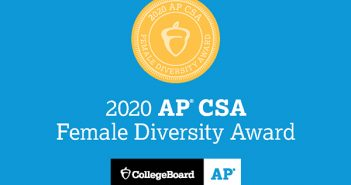 AP® Computer Science A Female Diversity Award