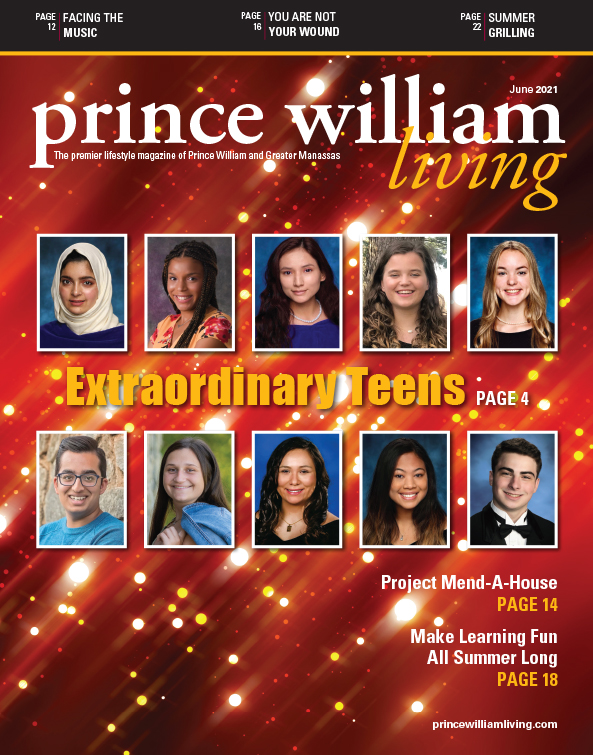 Prince William Living, June 2021, Extraordinary Teens