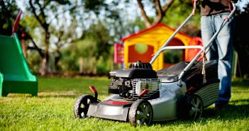 lawn mower, home & hearth 0621