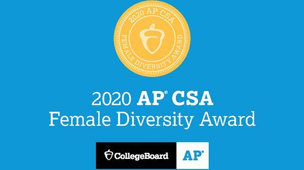 AP® Computer Science A Female Diversity Award