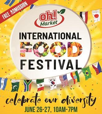 Oh! Market, Food Festival, June 2021