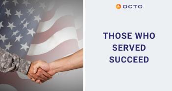 Octo, Veterans, Civilian workforce