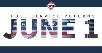 vre return to full service