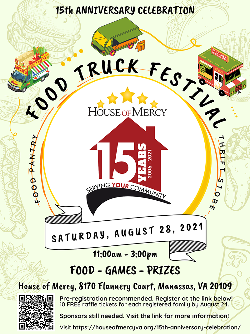 House of Mercy food truck festival