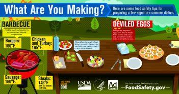 safe food temperatures