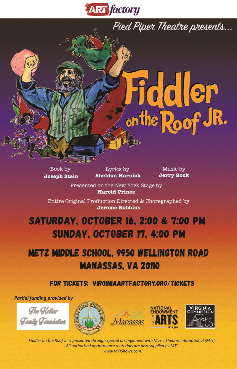 Fiddler on the Roof JR., ARTfactory