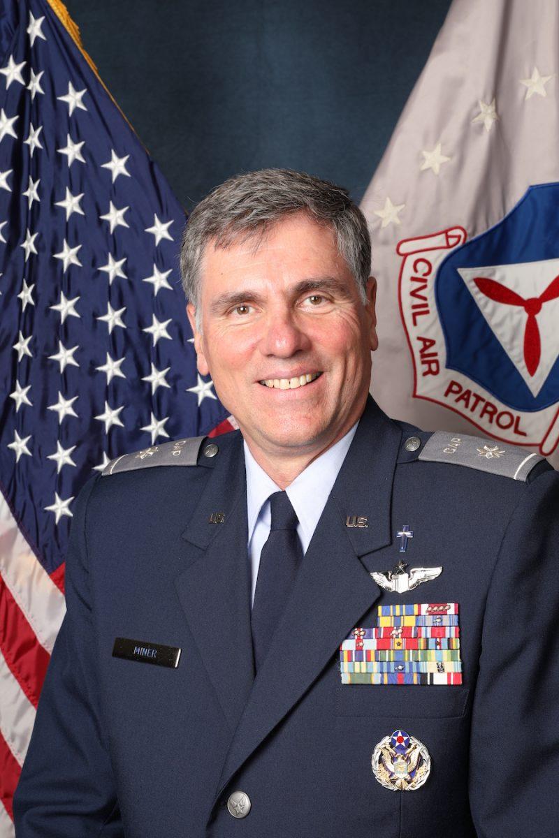 Chaplain Timothy Miner, Civil Air patrol