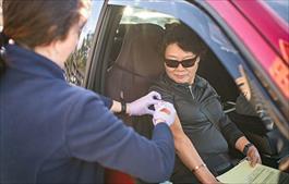 drive-thru flu shot