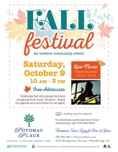 Potomac Place fall festival