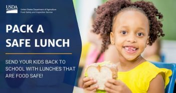 USDA, safe school lunch
