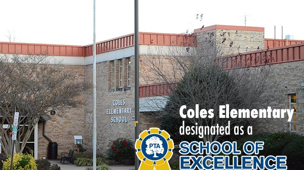 Coles Elementary, National PTA