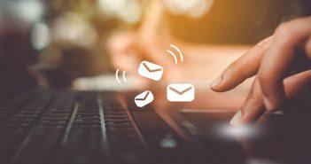 email, keyboard, typing