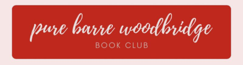 pure barre woodbridge book club