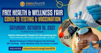 Zion Church Health & Wellness Fair